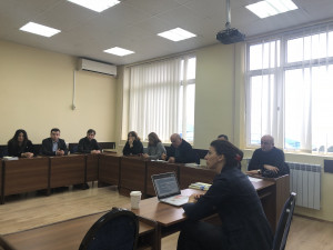 Round Table Discussion on Legal Ethics at Batumi Shota Rustaveli State University