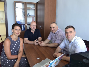 NVU Legal Ethics Co-chair visits Batumi State University