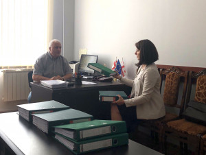 Representatives of the NVU Ethics Chair visited Akaki Tsereteli State University